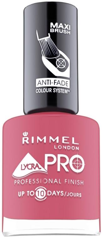 Лак для ногтей - Rimmel Lycra Pro