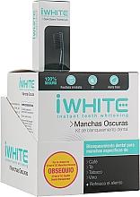 Духи, Парфюмерия, косметика Набор для отбеливания зубов с зубной щеткой, 10 шт - IWhite Dark Stains Whitening Kit