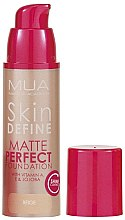 Духи, Парфюмерия, косметика Тональная основа - MUA Skin Define Matte Perfect Foundation