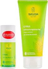 Набор - Weleda 100 % Morning Energy Citrus (sh/gel/200ml + deo/50ml)  — фото N2