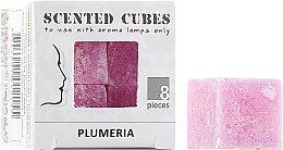"Духи, Парфюмерия, косметика Аромакубики ""Плюмерия"" - Scented Cubes Pulmeria Candle"