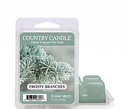 Парфумерія, косметика Віск для аромалампи - Country Candle Frosty Branches Wax Melts