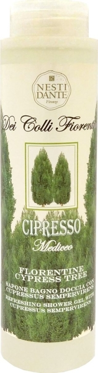 "Гель для душа ""Кипарис"" - Nesti Dante Dei Colli Fiorentini Florentine Cypress Tree"
