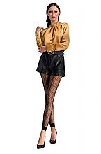 Духи, Парфюмерия, косметика Леггинсы в сеточку с орнаментом TI050, nero - Passion