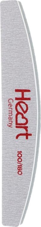 Пилка-баф для ногтей Half 100/180 - Heart Germany