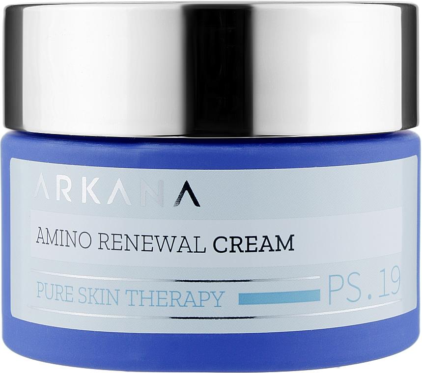 Ночной биообновляющий крем с аминокислотами - Arkana Amino Reneval Cream
