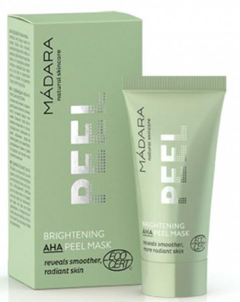 Освежающая маска-пилинг с АНА-кислотами - Madara Cosmetics Brightening AHA Peel Mask