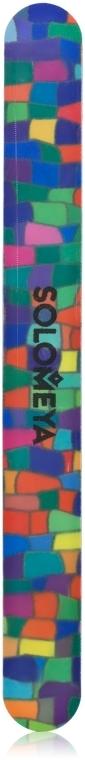 """Пилка для натуральных ногтей с глиттером """"Майлар"""", 220 грит - Solomeya"""