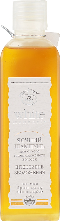 "Шампунь для волос ""Яичный"" - White Mandarin"
