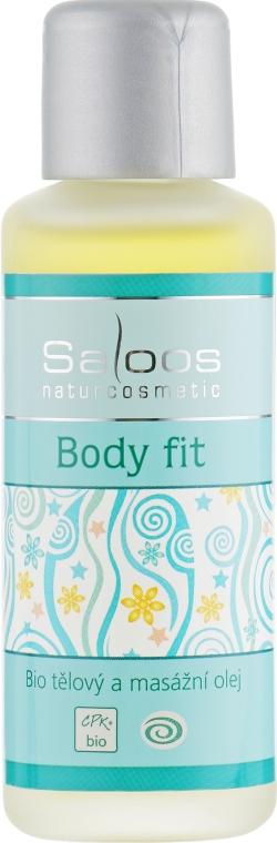 "Массажное масло ""Body Fit"" - Saloos"