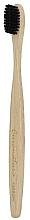 Парфумерія, косметика Бамбукова зубна щітка з м'якою вугільною щетиною - Curanatura Bamboo Carbon