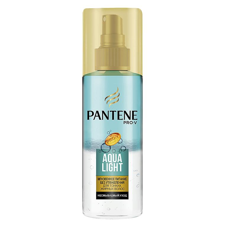Легкий Питательный Двухфазный Спрей - Pantene Pro-V Aqua Light Overnight Nourishing Spray