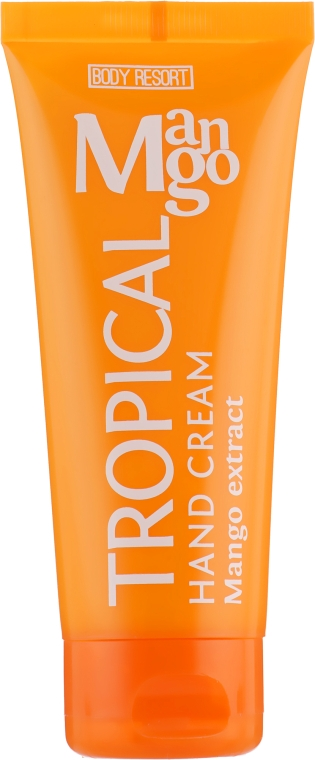 Крем для рук ''Тропическое манго'' - Mades Cosmetics Body Resort Tropical Hand Cream Mango Extract