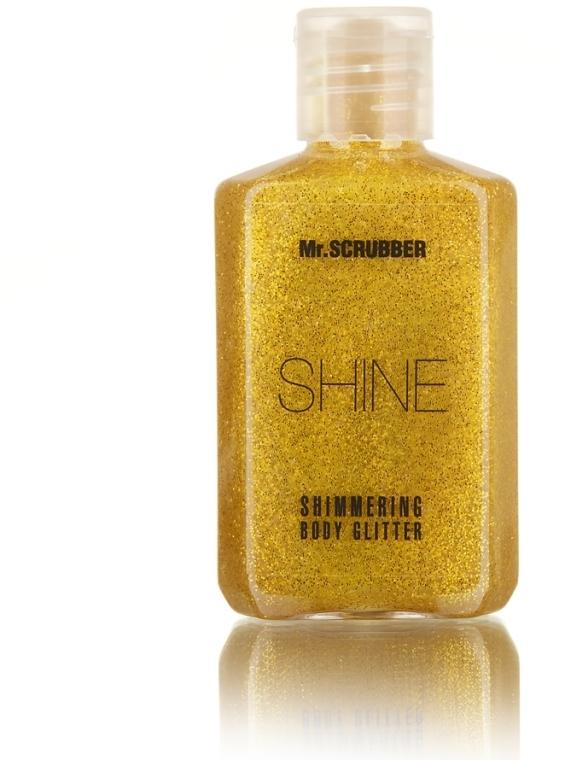 Сияющий глиттер для тела, золотой - Mr.Scrubber Shine Shimmering Body Glitter