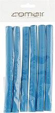 """Духи, Парфюмерия, косметика Бигуди """"Flex"""" синие 170mm, d14 - Comair"""