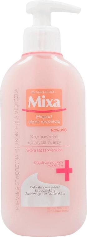 Кремовый гель для умывания - Mixa Sensitive Skin Expert Foaming Cleansing Gel