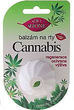 Парфумерія, косметика Бальзам для губ з олією конопель та вітаміном Е - Bione Cosmetics Cannabis Vitamin E
