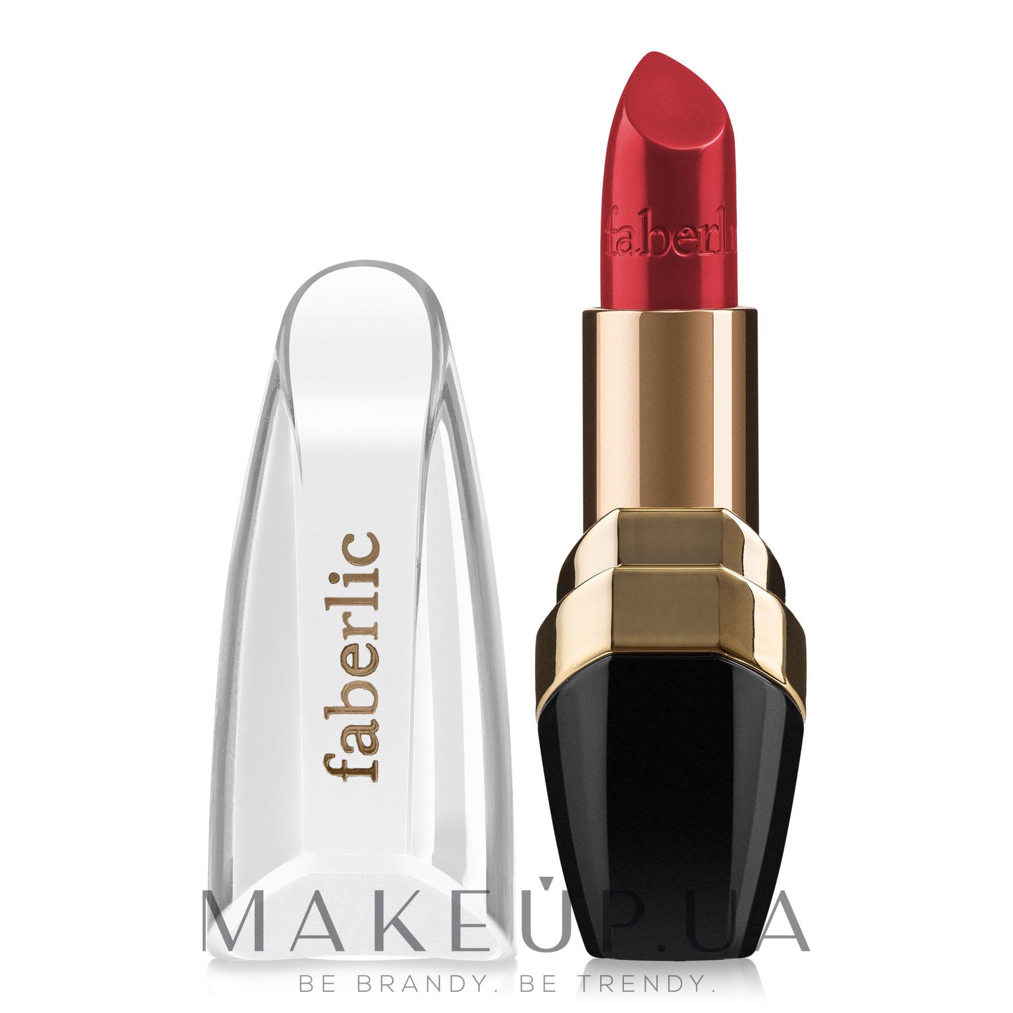 """Увлажняющая губная помада """"Увлажнение в цвете"""" - Faberlic Lipstick — фото 43091 - Классический красный"""