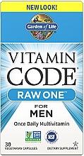 Духи, Парфюмерия, косметика Мужские мультивитамины - Garden of Life Vitamin Code Raw One for Men