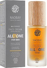 Духи, Парфюмерия, косметика Крем для лица мужской - Naobay All In One For Men Face Cream