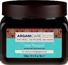 Духи, Парфюмерия, косметика Маска с аргановым маслом для окрашенных волос - Kreogen Arganicare Argan Oil Hair Masque for Colored /Highlighted Hair