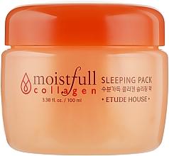 Духи, Парфюмерия, косметика Ночная маска с коллагеном - Etude House Moistfull Collagen Sleeping Pack
