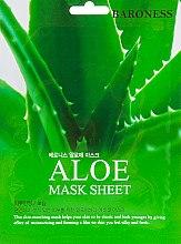 Духи, Парфюмерия, косметика Тканевая маска с экстрактом алоэ - Beauadd Baroness Mask Sheet Aloe