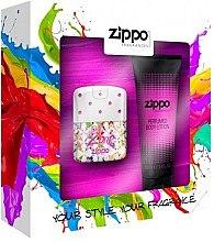 Духи, Парфюмерия, косметика Zippo PopZone For Her - Набор (edt/40ml + b/lot/100ml)