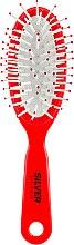 Духи, Парфюмерия, косметика Расческа массажная, маленькая, РМ-8683, коралловая - Silver Style