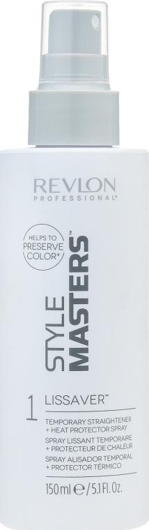 Спрей для выпрямления волос с термозащитой - Revlon Professional Style Masters Double or Nothing Lissaver