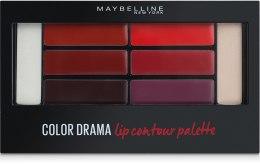 Духи, Парфюмерия, косметика Палетка для контурирования губ - Maybelline Color Drama Lip Contour Palette