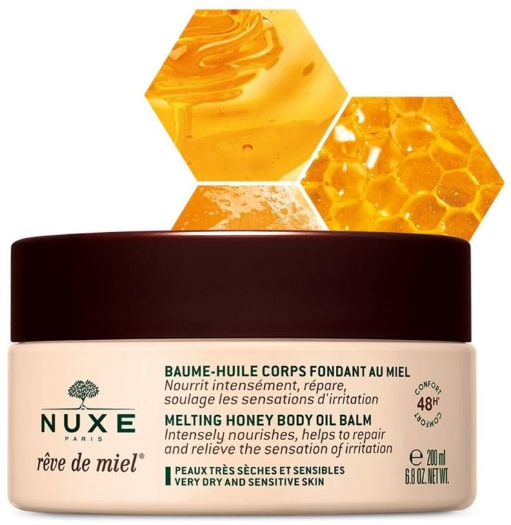 Медовый бальзам для тела - Nuxe Reve de Miel Melting Honey Body Oil Balm