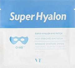 Духи, Парфюмерия, косметика Гиалуроновые гидрогелевые патчи для глаз - VT Cosmetics Super Hyalon Eye Patch