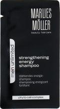 Духи, Парфюмерия, косметика Укрепляющий шампунь - Marlies Moller Men Unlimited Strengthening Shampoo (пробник)