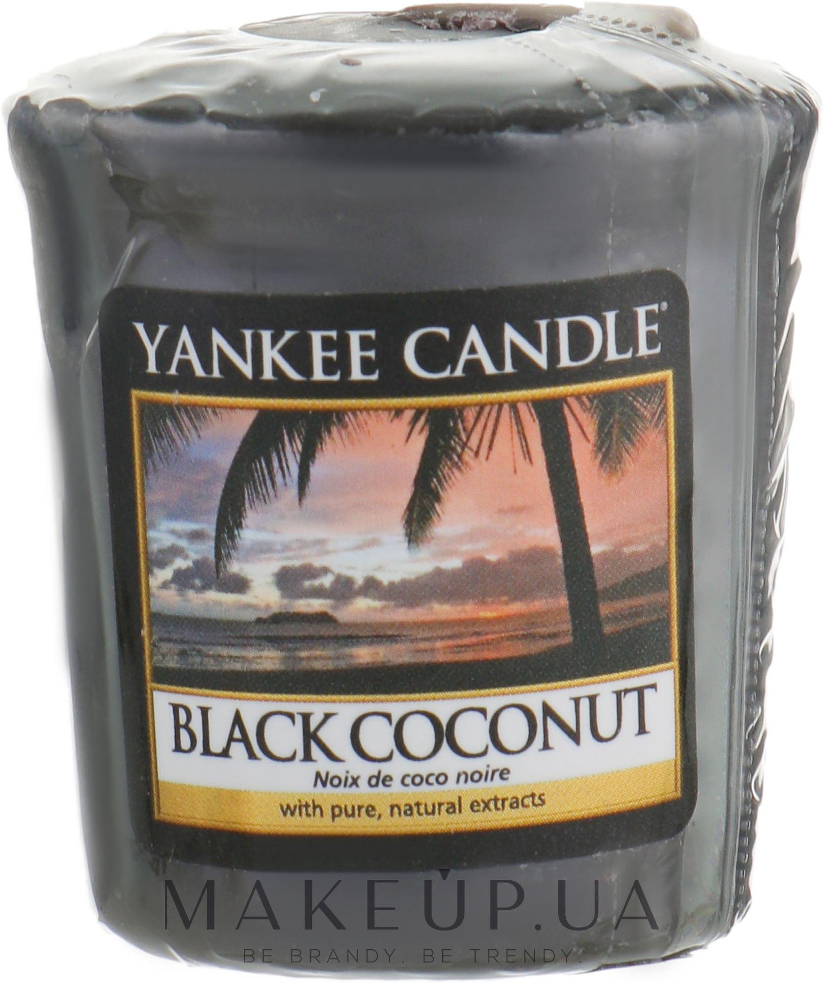 Ароматическая свеча - Yankee Candle Black Coconut — фото 49g