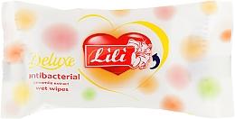 Духи, Парфюмерия, косметика Влажные салфетки антибактериальные с экстрактом ромашки, 15 шт - Lili Deluxe