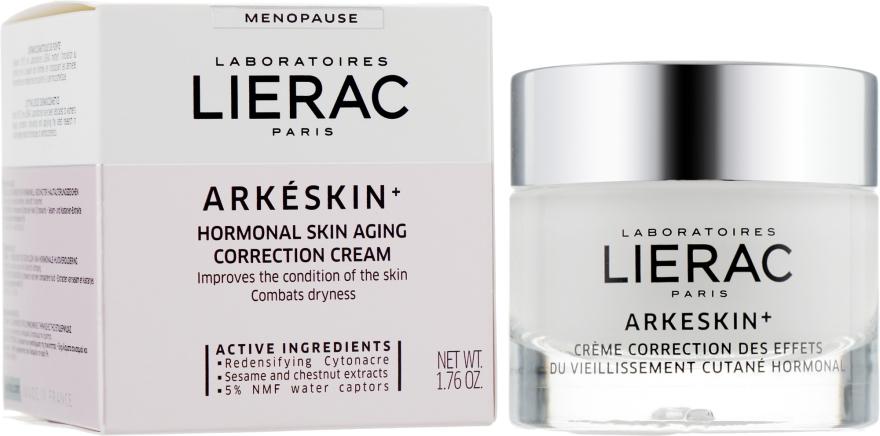 Корректирующий крем против гормонального старения кожи - Lierac Arkeskin Hormonal Skin Aging Correction Cream