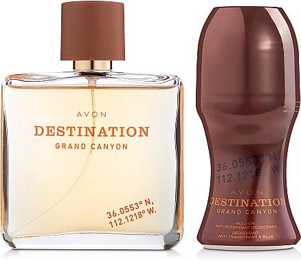 Avon Destination Grand Canyon - Набор (edt/75ml + deodorant/50ml)