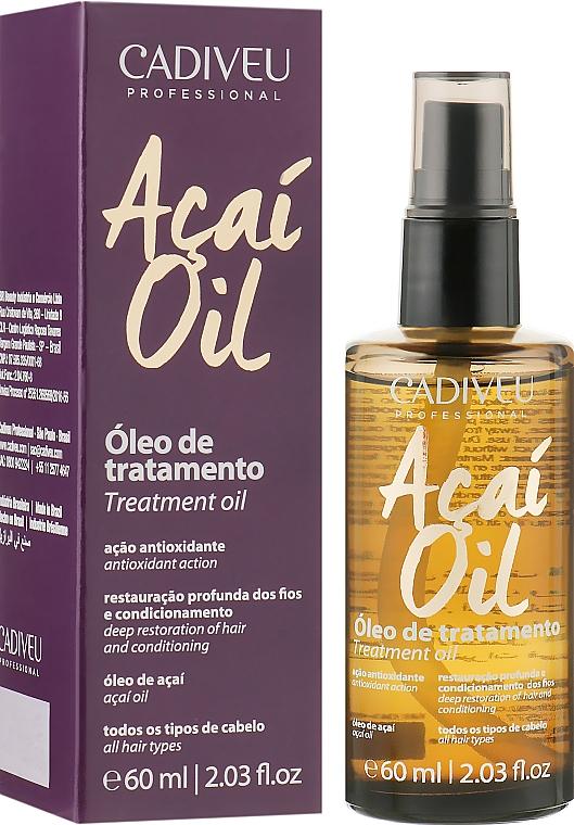 Сыворотка для волос - Cadiveu Acai Oil Treatment Oil
