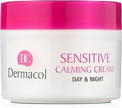 Духи, Парфюмерия, косметика Питательный успокаивающий крем для чувствительной кожи - Dermacol Sensitive Calming Cream