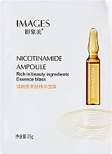 Духи, Парфюмерия, косметика Омолаживающая маска для лица с ниацинамидом - Images Nicotinamide Ampoule