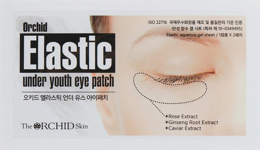 Гидрогелевые патчи для кожи вокруг глаз - The Orchid Skin Elastic Under Youth Eye Patch
