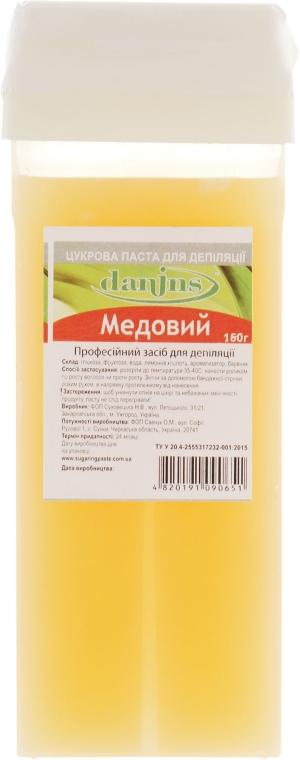 """Сахарная паста для депиляции в картридже """"Медовая"""" - Danins Professional Sugar Paste"""