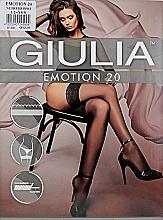 "Духи, Парфюмерия, косметика Чулки для женщин ""Emotion"" 20 Den, nero/rosso - Giulia"
