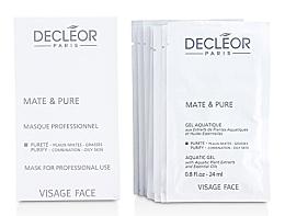 Духи, Парфюмерия, косметика Пудровая растительная, матирующая маска для комбинированной и жирной кожи - Decleor Mate and Pure Mask Vegetal Powder