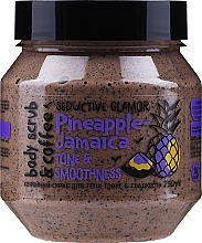 """Духи, Парфюмерия, косметика Кофейный скраб для тела """"Тонус и гладкость"""" - MonoLove Bio Pineapple-Jamaica Tonus & Smoothness Body Scrub"""
