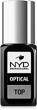 Духи, Парфюмерия, косметика Топовое покрытие для ногтей - NYD Professional Optical Top