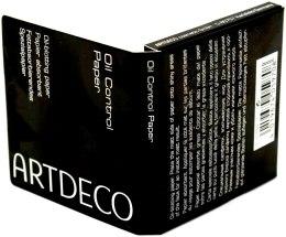 Духи, Парфюмерия, косметика Салфетки абсорбирующие - Artdeco Oil Control Paper (тестер)