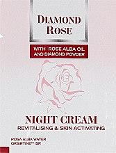 Духи, Парфюмерия, косметика Восстанавливающий ночной крем - BioFresh Diamond Rose Night Cream (пробник)