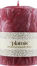 Духи, Парфюмерия, косметика Декоративная пальмовая свеча, рубиновая - Plamis